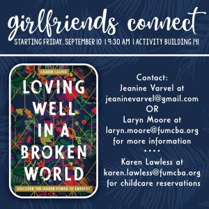 Girlfriends Connect 8.18.21